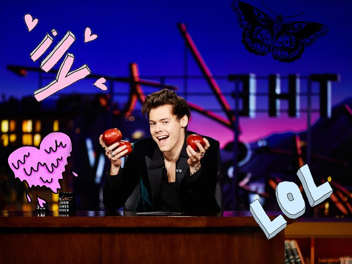 5 funniest moments from Harry Styles' 'Late Late Show' take over