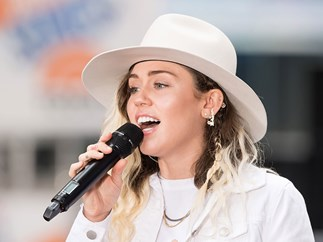 So Miley Cyrus has gone country now