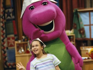 Celebs who appeared on 'Barney & Friends' when they were little