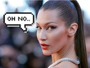 Awks.. Bella Hadid got sprung stalking a pic of her ex and we feel her pain