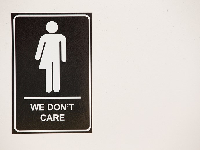 These all-inclusive bathroom signs are everything