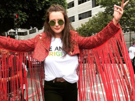 The '13 Reasons Why' cast joined the San Francisco Pride Parade and it was fab