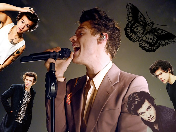 The baben' evolution of Harry Styles