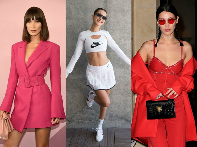 37 times Bella Hadid gave us ~major~ wardrobe envy