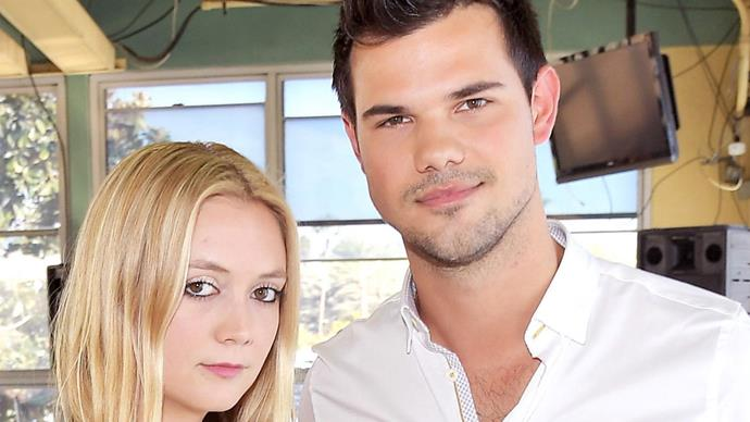 Billie Lourd and Taylor Lautner call it quits and we're heartbroken