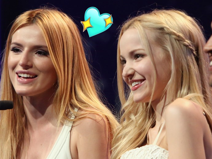 Bella Thorne speaks out on her ~obsession~ with Dove Cameron