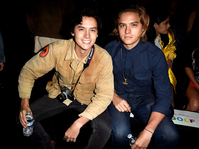 Cole Sprouse had the best reaction to his brother Dylan's return to acting