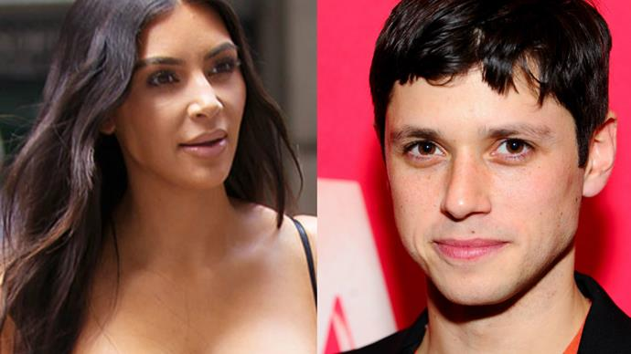 This Disney star just revealed that he once made out with Kim Kardashian