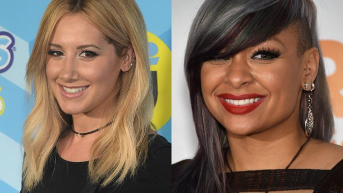 WTH: Raven-Symoné and Ashley Tisdale have apparently known each other since they were babies