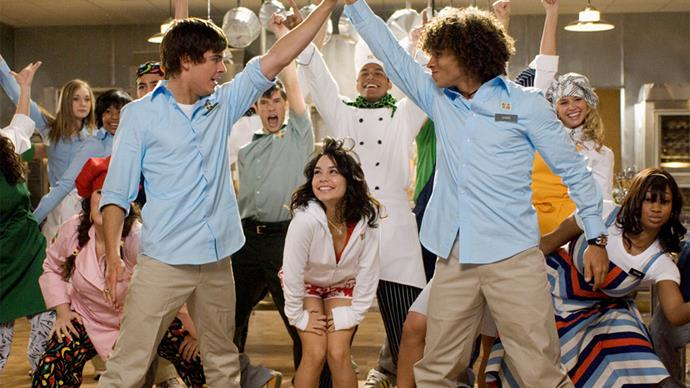This is what all the 'High School Musical 2' stars wore on the red carpet in 2007