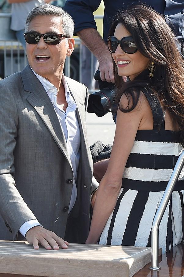 Amal Alamuddin George Clooney back to work