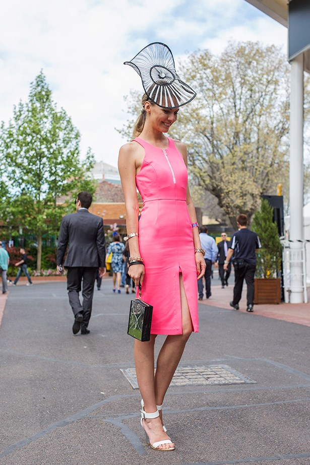 Dasha Gold at the Caulfield Guineas Day 2014 in Melbourne