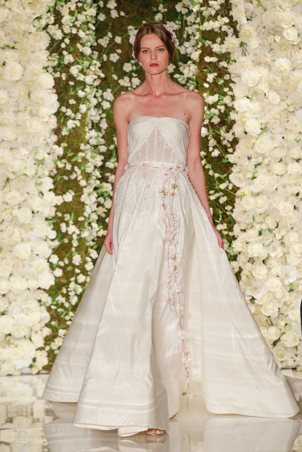 Reem Acra Bridal Fashion Week Autumn Winter 2015