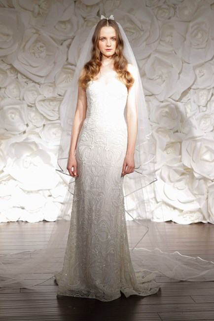 Naeem Khan Bridal Fashion Week Autumn Winter 2015