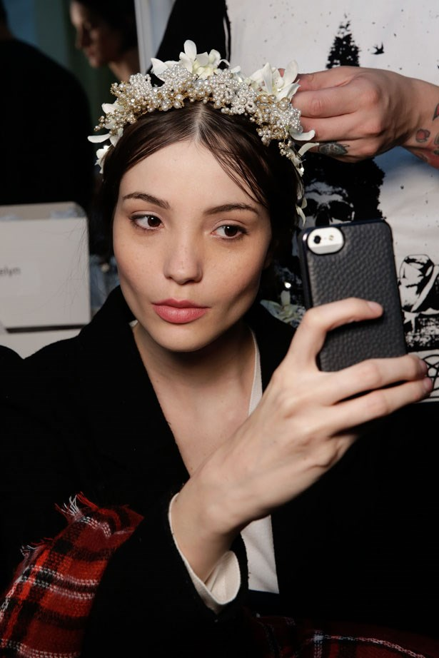 Reem Acra Bridal Fashion Week Autumn Winter 2015
