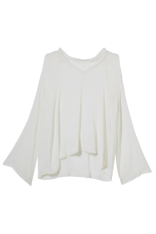 Blouse, $395, Willow, willowltd.com