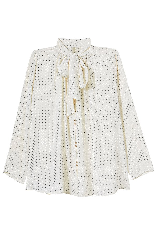 Blouse, $350, Zimmermann, zimmermannwear.com