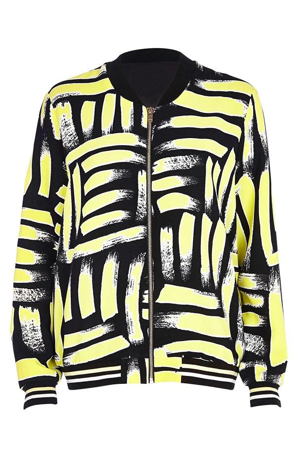 Jacket, $108, River Island, au.riverisland.com