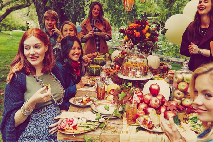 Lively gathered her pregnant girlfriends around her to celebrate the creation of family