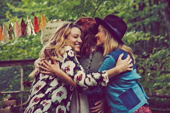 Blake Lively seems to have thrown the best baby shower of all time with happy faces all around
