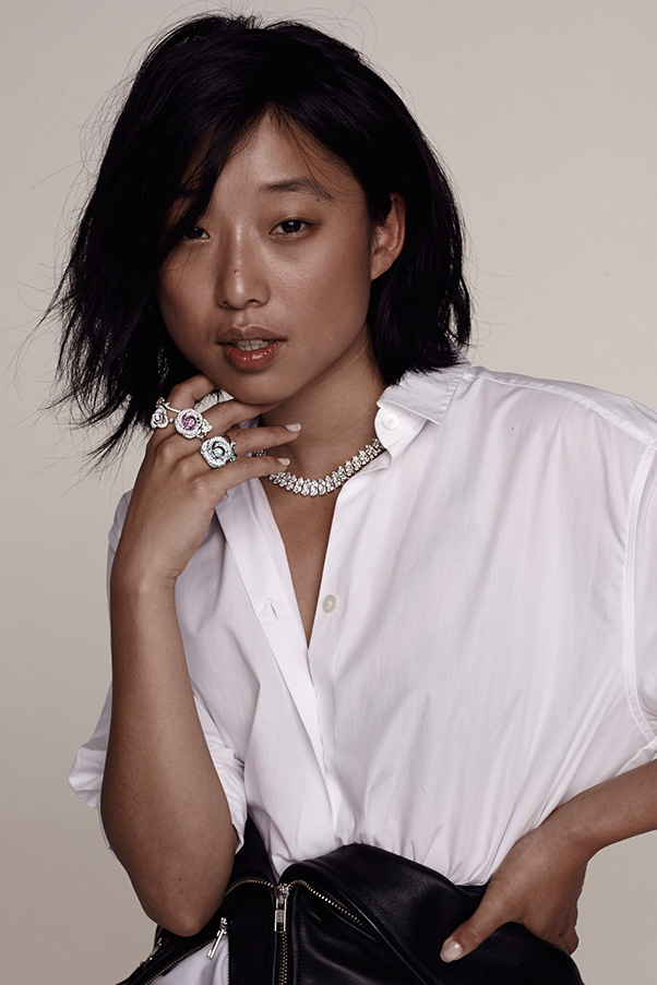 Blogger margaret zhang of shine by three elle for Www elle com au