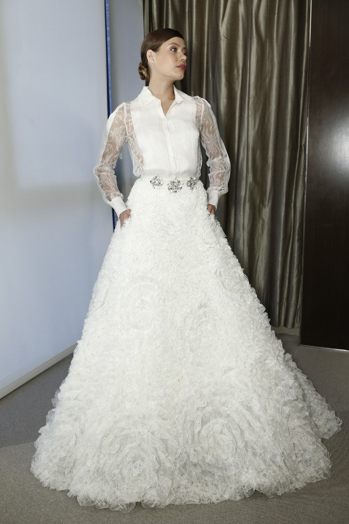 Pronovias Bridal Fashion Week Autumn Winter 2015