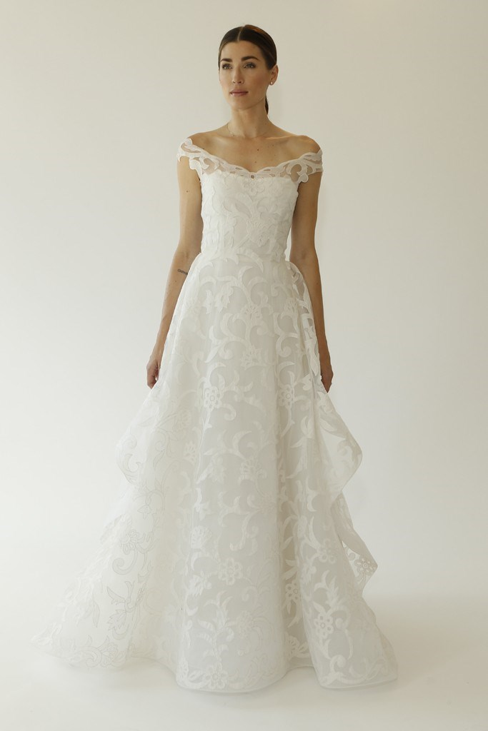 Oscar de la Renta Bridal Fashion Week Autumn Winter 2015