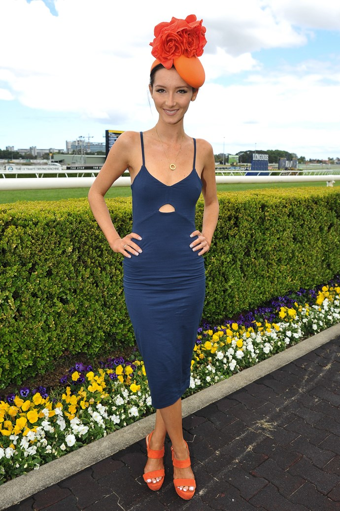 Emily Neilan at the Sydney Tattersall's Club Cup Day