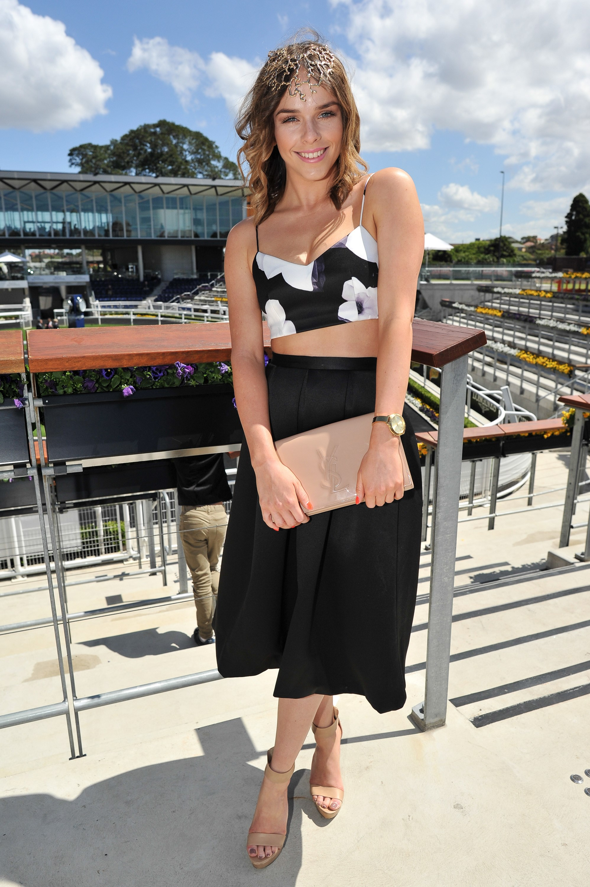 Georgie Barlow at the Sydney Tattersall's Club Cup Day