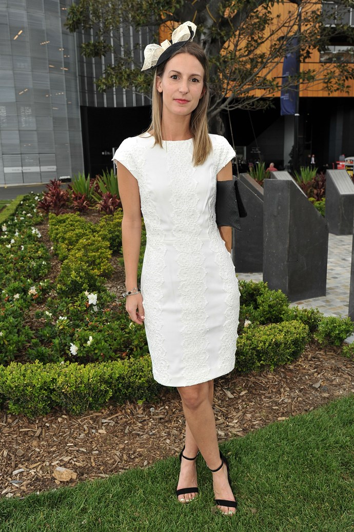 Kristen Oertel at the Sydney Tattersall's Club Cup Day
