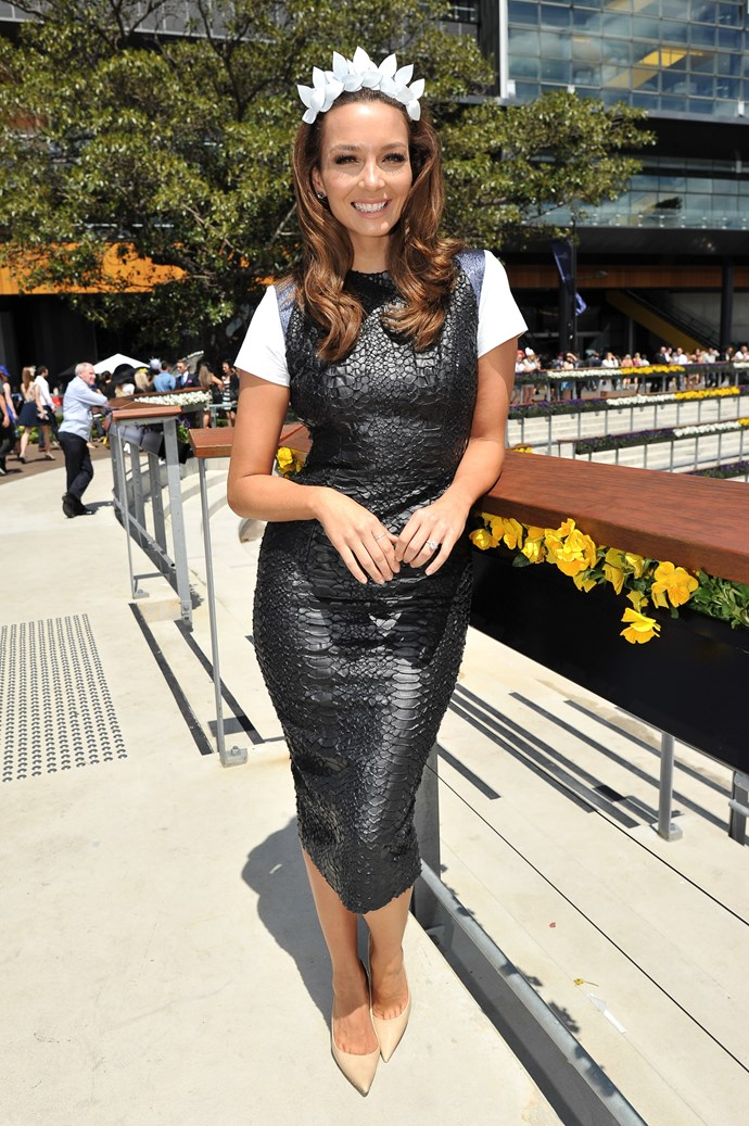 Ricki-Lee Coulter at the Sydney Tattersall's Club Cup Day