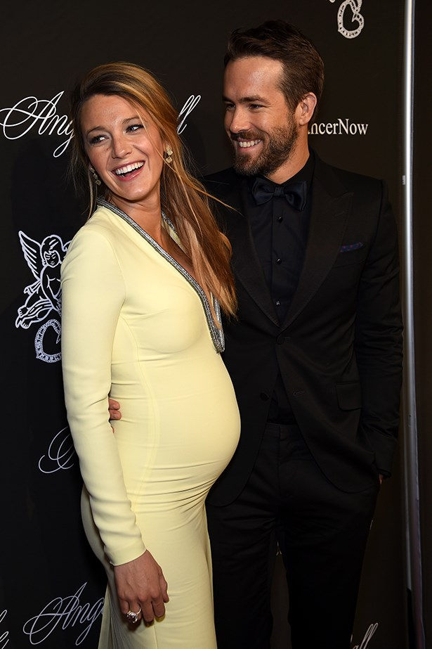 Blake Lively with her best accessory, husband Ryan Reynolds, at the Angel Ball