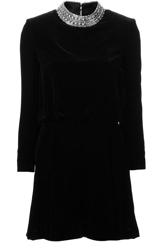 "Dress, $5,366, Saint Laurent, <a href=""http://www.farfetch.com/au/shopping/women/saint-laurent-clementine-mini-dress-item-10851224.aspx?storeid=9628&ffref=lp_100_ "">farfetch.com </a>"