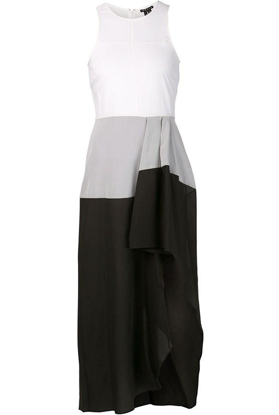 """Dress, $826, Theory, <a href=""""http://www.farfetch.com/au/shopping/women/theory-dolie-dress-item-10852462.aspx?storeid=9352&ffref=lp_145_ """">farfetch.com </a>"""