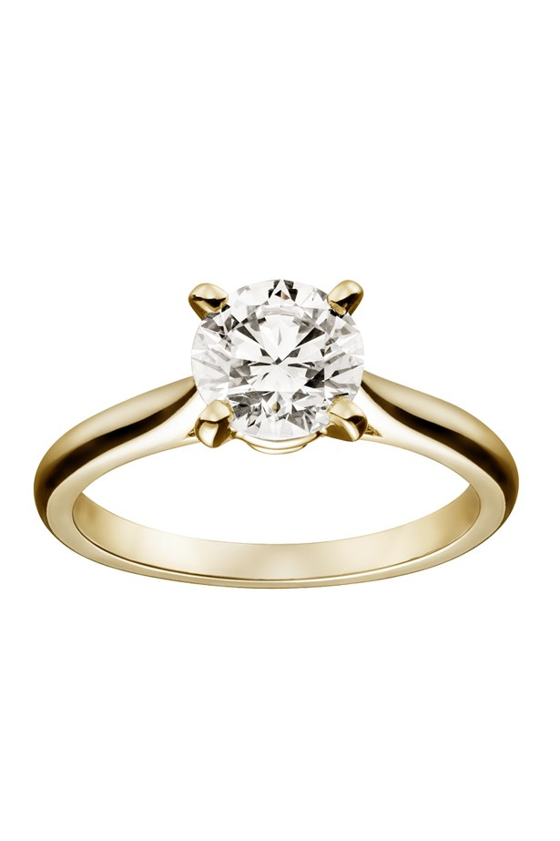 "<strong>Under $40,000</strong> <br><br> Ring, from $38,900, Cartier, <a href=""http://www.au.cartier.com/collections/bridal/engagement-rings/solitaire-1895/h4166900-solitaire-1895"">au.cartier.com </a>"