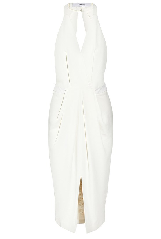 "Dress, $1387, Dion Lee, <a href=""http://www.net-a-porter.com/product/462794/Dion_Lee/open-back-textured-crepe-midi-dress"">net-a-porter.com </a>"
