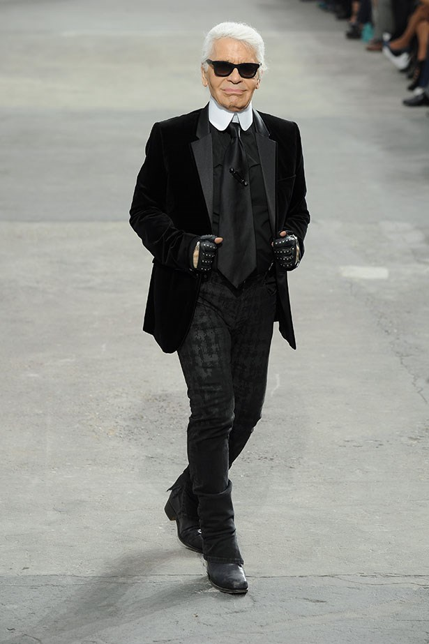 'Trendy is the last stage before tacky.' <br><br> - Karl Lagerfeld