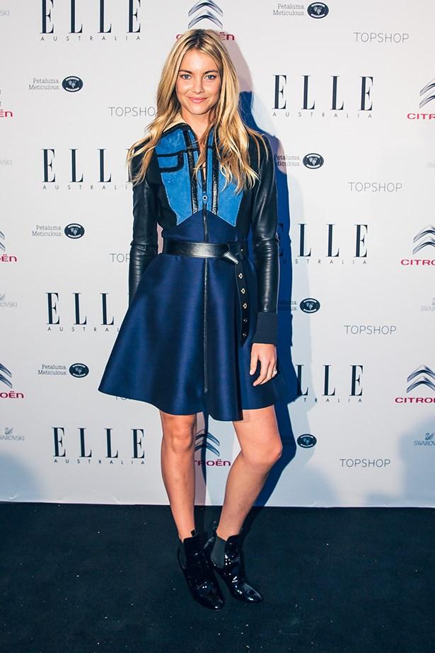 Elyse Taylor wearing Louis Vuitton