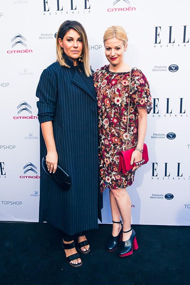 Camilla Freeman Topper and Eva Galambos