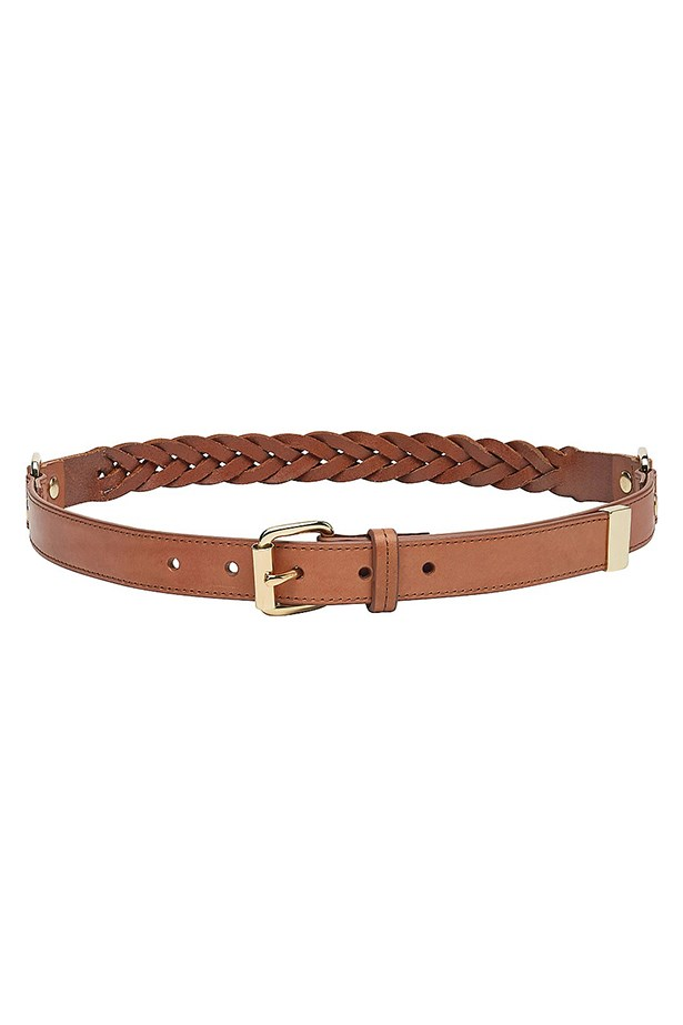 "Belt, $59.95, Witchery, <a href=""http://www.witchery.com.au/shop/woman/accessories/belts/plaited-belt-60172016"">witchery.com.au</a>"