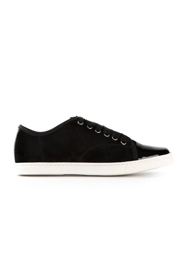 """Sneakers, approx $470, Lanvin, <a href=""""http://www.farfetch.com/au/shopping/women/lanvin-varnished-detail-sneakers-item-10738833.aspx?storeid=9568&ffref=lp_97_"""">farfetch.com</a>"""