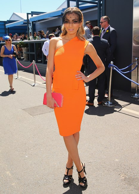 Melbourne Cup celebrity fashion