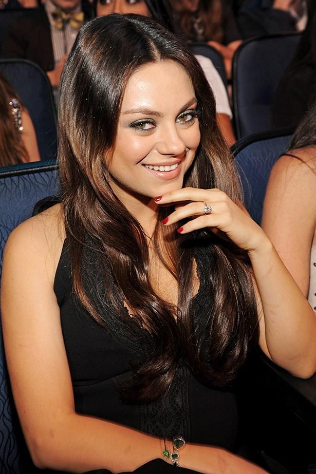 Mila Kunis Motherhood Ring