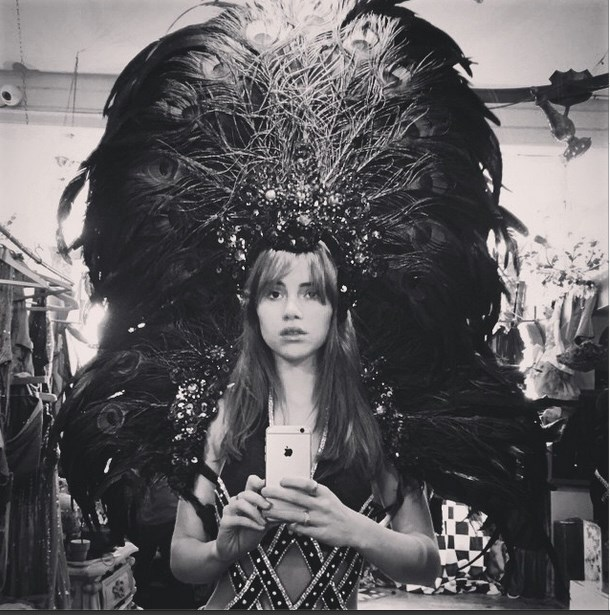 """<strong>1. Suki Waterhouse: </strong> <br><br> The Brit beauty got tongues wagging about her potential spot in the Victoria's Secret show lineup with this Instagram pic. Are they VS wings, Ms Waterhouse? We'll have to wait and see. <br><br> Image courtesy of @sukiwaterhouse via <a href=""""http://instagram.com/sukiwaterhouse"""">Instagram</a>"""
