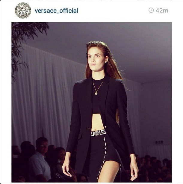 """<strong>6. Vanessa Moody:</strong> <br><br> With the looks to rival a young Cindy Crawford, this newcomer is a hot tip for the 2014 Victoria's Secret show. Moody has been touted as one to watch by <a href=""""http://models.com/mdx/top-newcomers-ss-2015/"""">Models.com</a>, having opened Versace and Alexander Wang, and closed Derek Lam and Givenchy for the SS15 season. <br><br> Image courtesy of @vemoody via <a href=""""http://instagram.com/VEMOODY"""">Instagram</a>"""