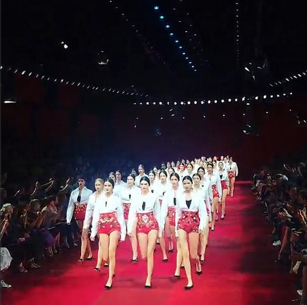 """<strong>7. Kendall Jenner:</strong> <br><br> The girl <a href=""""http://www.elle.com.au/news/fashion-news/2014/10/how-kendall-jenner-won-fashion-weekmonth/"""">won fashion week</a>. Enough said. <br><br> Image courtesy of @kendalljenner via <a href=""""http://instagram.com/kendalljenner"""">Instagram</a>"""