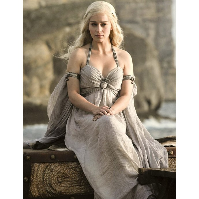 <strong>Daenerys Targaryen from <em>Game Of Thrones</em>:</strong> <br>Because those hours spent in the salon achieving an on-trend shade of bleach blonde weren't for nothing.
