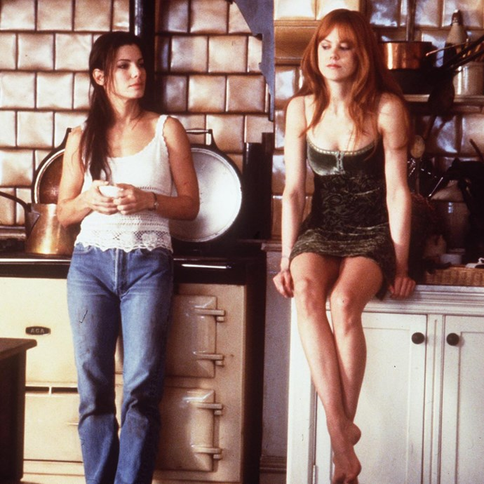 <strong>Sally and Gillian Owens from <em>Practical Magic</em>:</strong><br> Because why wouldn't you want to channel Sandra Bullock and Nicole Kidman circa-1998?