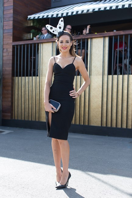 Emma Notarfrancesco at Derby Day in Melbourne