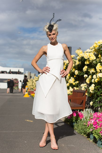 Kate Peck at Derby Day in Melbourne